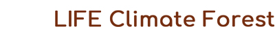 LIFE Climate Forest Logo